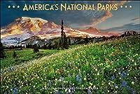 アメリカの国立公園 デラックス 2021 カレンダー