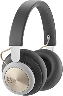 Bang & Olufsen Beoplay H4 Wireless Over-Ear Headphones, Leather Bluetooth Headphones, Charcoal Grey