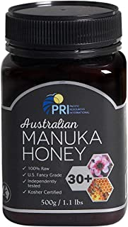 PRI Australian Manuka Honey 30+, 1.1lbs (MGO 200+)