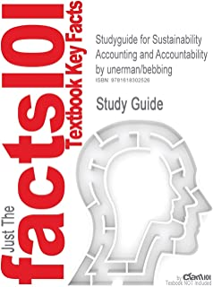 Studyguide for Sustainability Accounting and Accountability by Unerman/Bebbing, ISBN 9780415384896