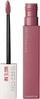Maybelline SuperStay Matte Ink Liquid Lipstick, Lover, 0.17 fl. oz.