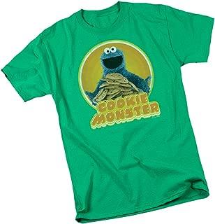 Sesame Street Classic Cookie Monster Adult T-Shirt