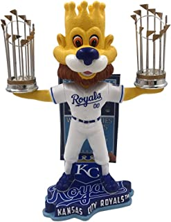 Forever Collectibles Kansas City Royals MLB World Series Champions Series - Numbered to 1,000 Bobblehead