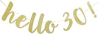 Best hello 30 banner Reviews