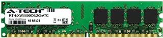 A-Tech 2GB Replacement for Kingston KTH-XW4400C6/2G - DDR2 800MHz PC2-6400 Non ECC DIMM 1.8v - Single Desktop & Workstation Memory Ram Stick (KTH-XW4400C6/2G-ATC)