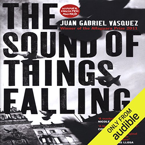 The Sound of Things Falling audiobook cover art
