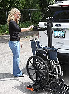 tilt and tote wheelchair carrier