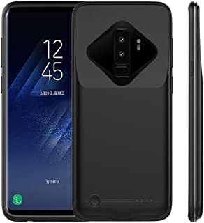 BIGFOX Galaxy S9 Plus Battery Case - [New Version] 5200mAh Ultra Slim Portable Charger Case Extended Charging Case Rechargeable Protective Power Case for Samsung Galaxy S9 Plus