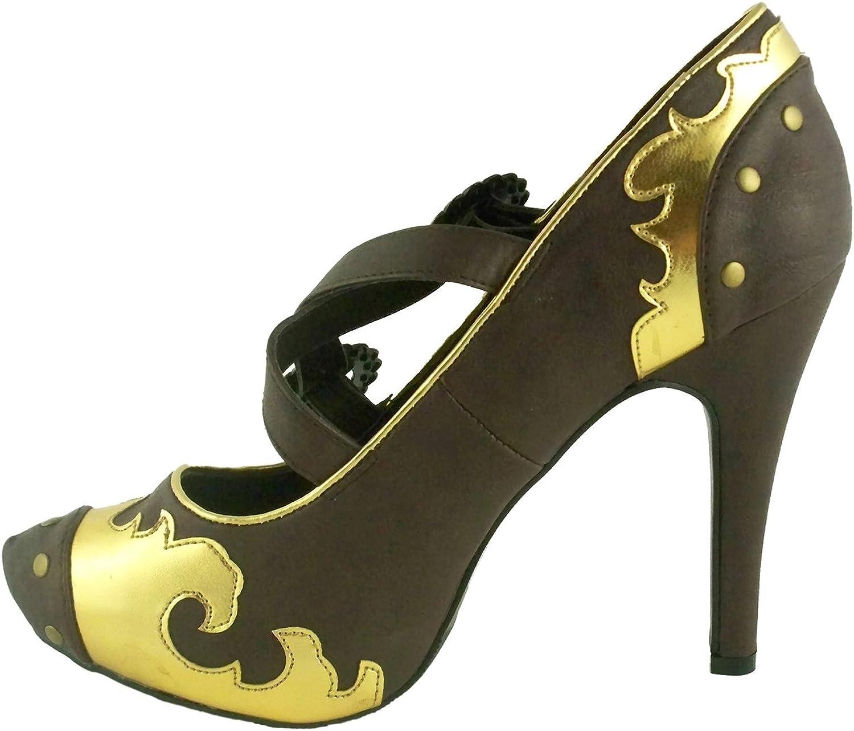 ELLIE 420-STEEL 4  Heel Women's Sandal