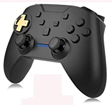 momen Wireless Controller for Nintendo Switch Electroplating Nintendo Switch Controller with Adjustable Dual Shock Turbo Function Pro Controller Switch Remote Gamepad