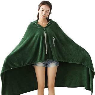 TOMORI Anime Cape Coat Flannel Cloak Daily Nap Throw Shawls Blanket Quilt (43.3