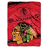 Northwest Chicago Blackhawks 60x80 Fleece Blanket - Chicago Blackhawks 60x80
