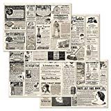 corpus delicti :: Papiertischsets – praktische Platzsets als Abreißblock - Vintage-Anzeigen aus...
