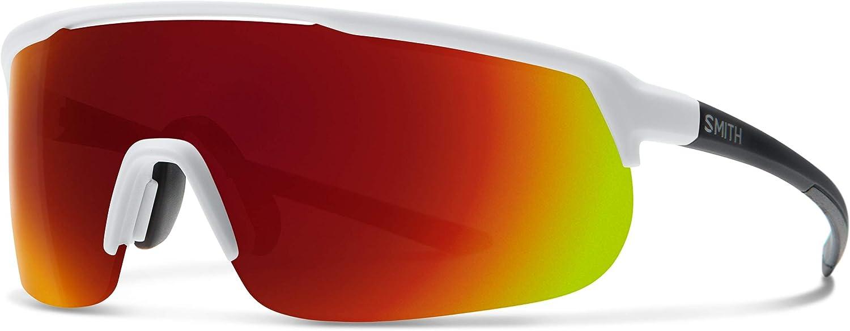 Smith Optics Unisex's TRACKSTAND Cycling Glasses, Matte White, One Size