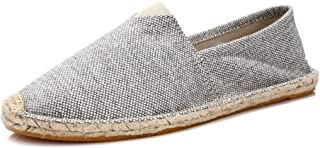 Women's Men's Casual Espadrilles Loafers Flats Shoes Breathable Slip-on Canvas Sneaker