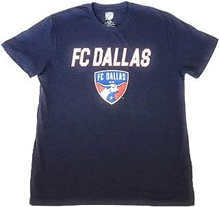 Campus Lifestyle MLS Soccer FC Dallas Men's T-Shirt, Blue, Large