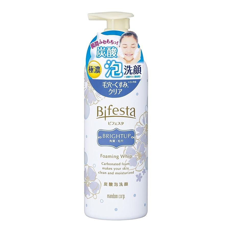 デッキ食料品店殉教者ビフェスタ 泡洗顔 ブライトアップ 180g