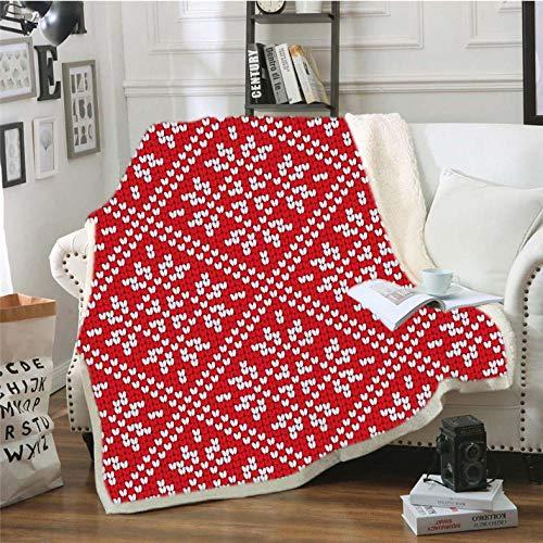 Pmhhc Geometrische patroon gooien dekens voor bedden gehaakte slaapbank bank cover dikke deken voor thuis