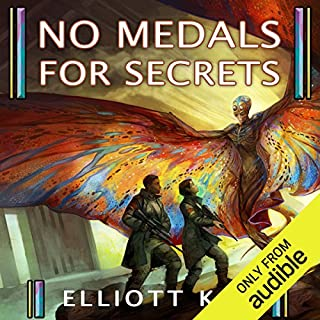 No Medals for Secrets audiobook cover art