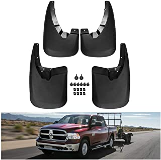 Husky Liners 58176 Front and Rear Mud Guard Set 2009-18 Dodge Ram 1500//2500//3500