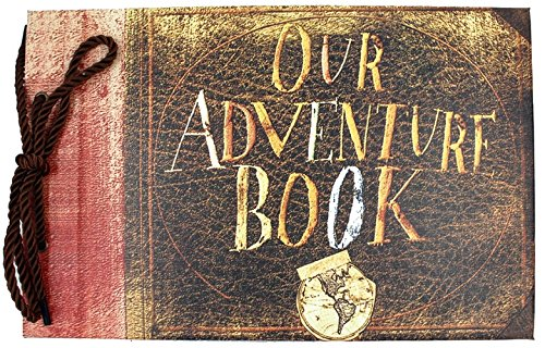 T-HAOHUA Anniversary Photo Album Scrapbook - Our Adventure Book Wedding Photo Album...