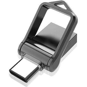 Memoria USB Tipo C 32GB 3.0 KOOTION Pendrive Type C 32 Gigas Flash Drive USB C Doble Entrada Pen Stick USB C OTG, Negro: Amazon.es: Electrónica