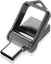 KOOTION Memoria USB C 3.0 64GB Pendrive USB Tipo C Flash Drive Type C OTG Pen USB Doble Entrada para Móviles, PC, MacBook, Android (Algunos Dispositivos de Huawei, Xiaomi, Honor, Samsung), Negro