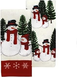 snowman kitchen towel set