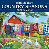 John Sloane's Country Seasons 2021 Mini Wall Calendar