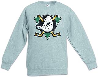 Urban Backwoods Ducks Hockey Sudadera Suéter para Niños Niñas Pullover