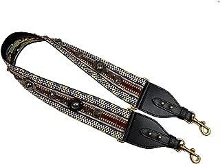 Womens SADDLE BAG Christian D Canvas Shoulder Strap 95cm Dior/bag