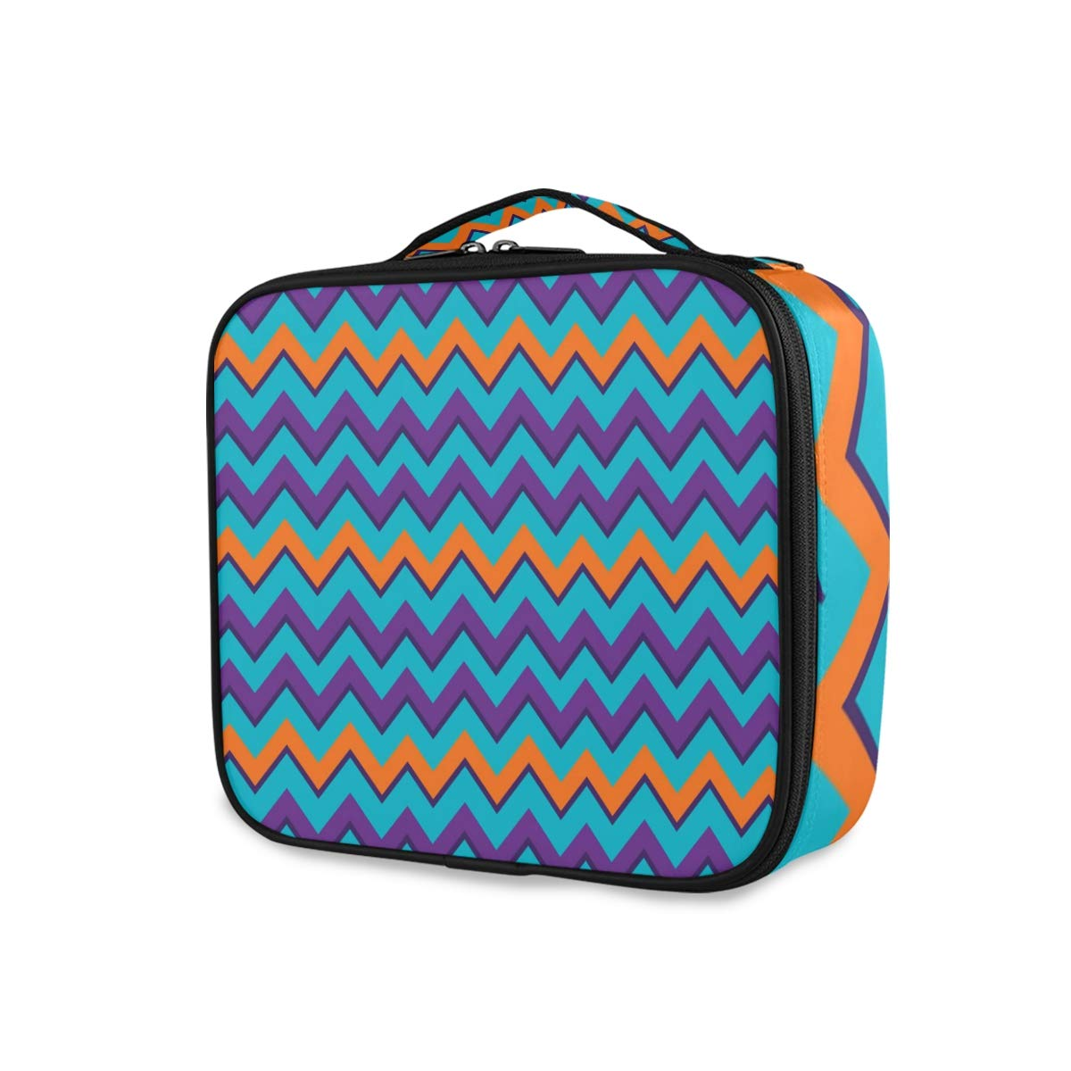 TravelStripe Translated Max 61% OFF Ripple Case Portable Organizer Bag Train Cas Makeup