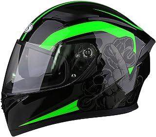 AIS R1-607 フルフェイスヘルメット バイクヘルメット フルフェイス オートバイ ヘルメット 雲止めシールド 安全ヘルメット 通気 オールシーズン PSC規格品 (カラー1, L)