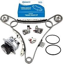 ECCPP TS20967 Timing Chain Water Pump fits for 2002-2007 Nissan Murano 350Z Maxima VQ35DE 3.5L