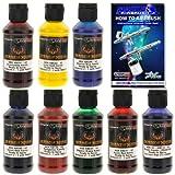 House of Kolor 4oz 8 COLOR KIT SHIMRIN KANDY Ready-to-Spray Basecoat