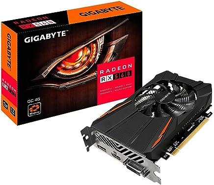 Gigabyte GV-RX560OC-4GD REV2.0Radeon 4GB Tarjetas de Gráficos de Computadora