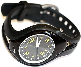 Women's Nike Triax Black Yellow Analog Blaze Sport Watch