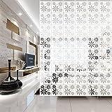 Y-Step Pannello, divisorio, paravento, da appendere, per casa, hotel, ufficio, bar, decorazione, 12 pezzi Pattern D
