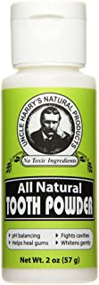 Unscented Tooth Powder 2oz powder by Uncle Harry's Natural Products