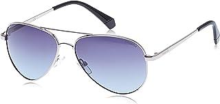 POLAROID Unisex Sunglasses Aviator PLD 6012/N/NEW - Ruthenium
