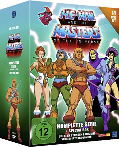 He-Man and the Masters of the Universe - Komplette Serie (14 Disc Set)