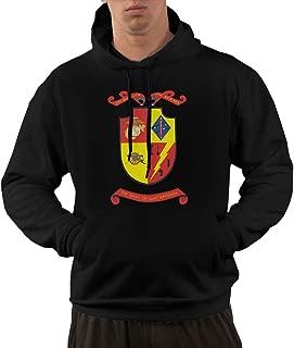 Yanchu Men's Pullover Hooded Sweatshirt - 1st Marine Division 5th Battalion 11th Marine Regiment