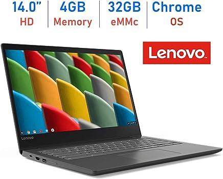 Lenovo 14'' S330 Chromebook HD Anti-Glare Display Laptop (Quad Core MediaTek MT8173c up to 2.1GHz, 4GB RAM, 32GB eMMC, Webcam, Bluetooth, HDMI, Chrome OS, Up to 10 hrs Battery, Business Black)