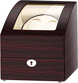 Automatic Double Watch Winder with 3 storages