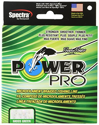 (2-Pack) Power Pro Braided Fishing Line (Moss Green, 15# x 150yds)