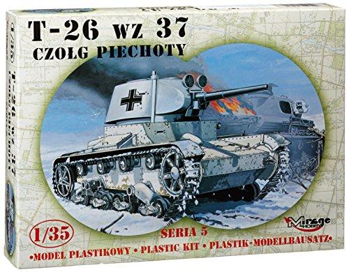 Réservoir capturé allemand T-26 1937 (01:35)