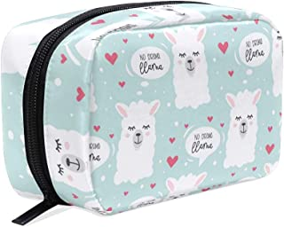 Llama Animal Cartoon Travel Duffel Bag Casual Large Capacity Portable Luggage Bag Suitcase Storage Bag Luggage Packing Tote Bag Weekend Trip