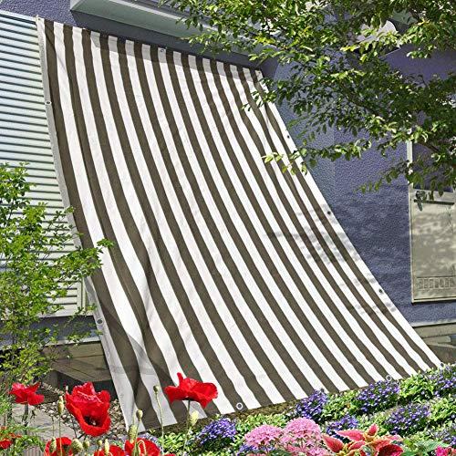 Vicareer Schattierungsnetz 70% -80% Sonnenschutz Net,Schattentuch UV Schutz Sonnensegel Für Carports/Terrassen/Gärten/Balkone Zur Reduzierung Der Lichtintensität- Mehrere Größen