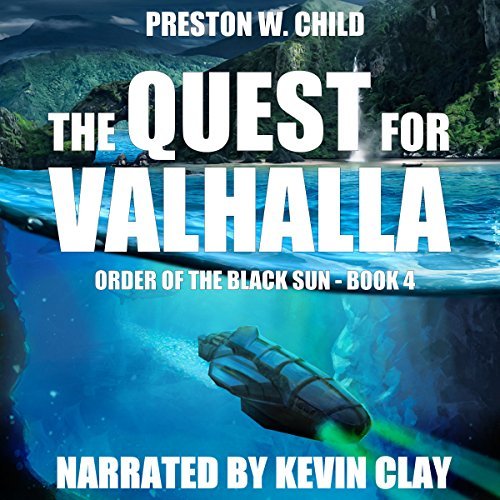 The Quest for Valhalla  audiobook cover art