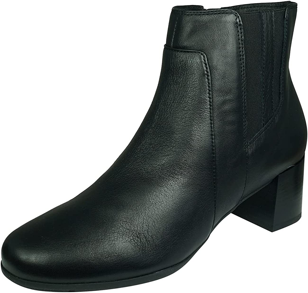 Geox Women's Sale Regular dealer item New Annya Leather Boot 38 8.0 Black US M EU